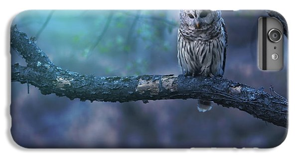 Owl iPhone 6 Plus Case - Solitude - Square by Rob Blair