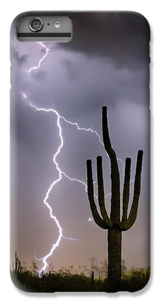 IPhone 6 Plus Case featuring the photograph Sonoran Desert Monsoon Storming by James BO Insogna