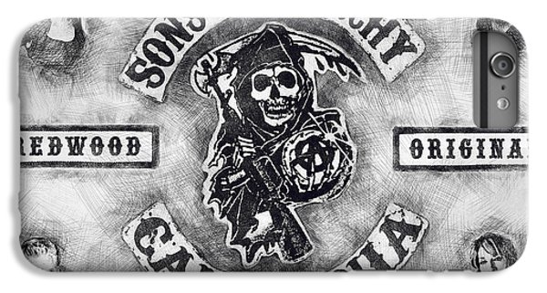reputable site 5bd95 f6f15 Sons Of Anarchy iPhone 6 Plus Cases | Fine Art America