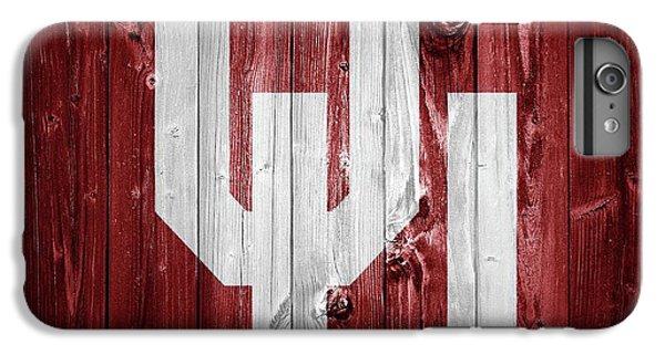 Sooners Barn Door IPhone 6 Plus Case by Dan Sproul