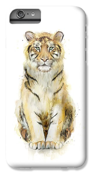 Tiger iPhone 6 Plus Case - Sound by Amy Hamilton