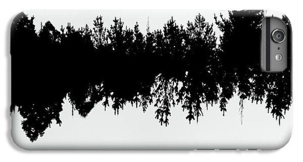 Sound Waves Made Of Trees Reflected IPhone 6 Plus Case