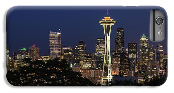 Space Needle IPhone 6 Plus Case by David Chandler