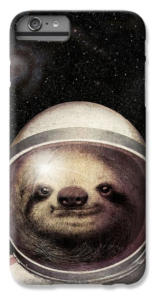 Space Sloth IPhone 6 Plus Case by Eric Fan