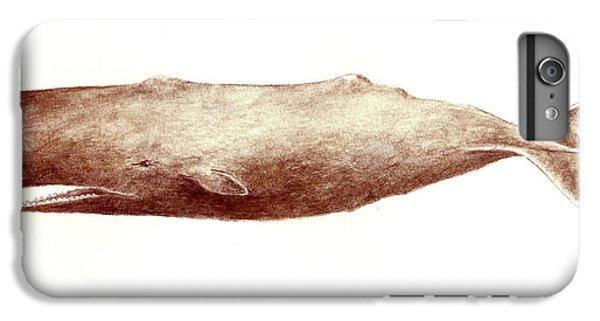 Sperm Whale IPhone 6 Plus Case by Michael Vigliotti