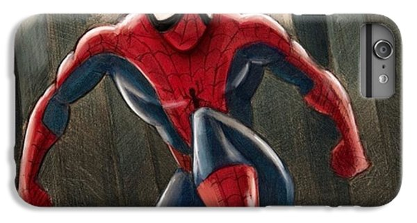 Amazing iPhone 6 Plus Case - Spider-man by Tony Santiago