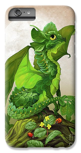 Spinach Dragon IPhone 6 Plus Case by Stanley Morrison
