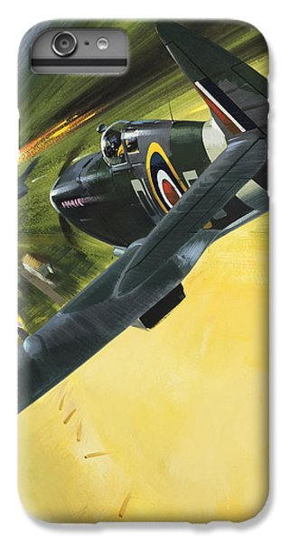 Spitfire And Doodle Bug IPhone 6 Plus Case by Wilf Hardy