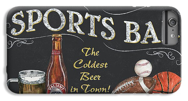 Football iPhone 6 Plus Case - Sports Bar by Debbie DeWitt