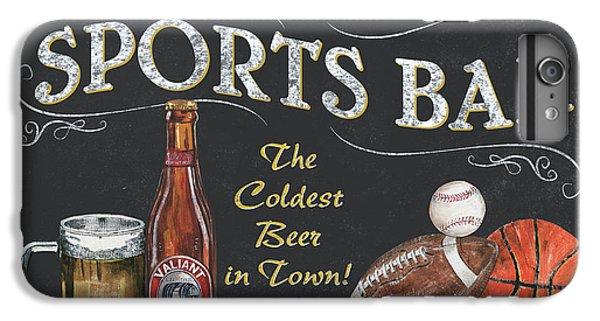 Sports Bar IPhone 6 Plus Case by Debbie DeWitt