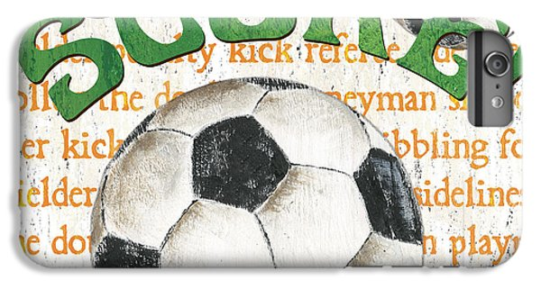 Sports Fan Soccer IPhone 6 Plus Case