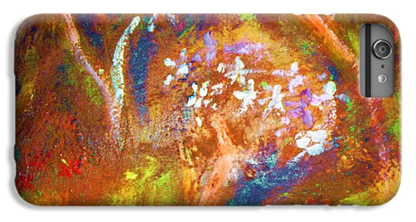 IPhone 6 Plus Case featuring the painting Spring Blossom by Winsome Gunning