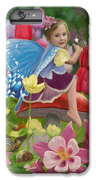 Fairy iPhone 6 Plus Case - Spring Fairy by Lucie Bilodeau