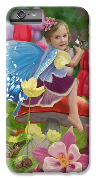 Spring Fairy IPhone 6 Plus Case by Lucie Bilodeau