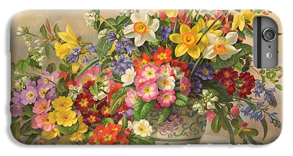 Spring Flowers And Poole Pottery IPhone 6 Plus Case