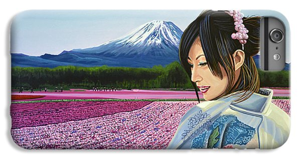 Mount Rushmore iPhone 6 Plus Case - Spring In Japan by Paul Meijering