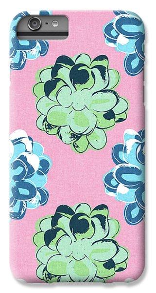 Spring Succulents- Art By Linda Woods IPhone 6 Plus Case by Linda Woods