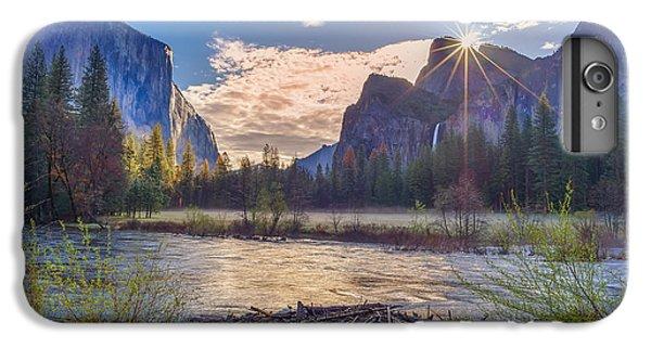 Spring Sunrise At Yosemite Valley IPhone 6 Plus Case by Scott McGuire