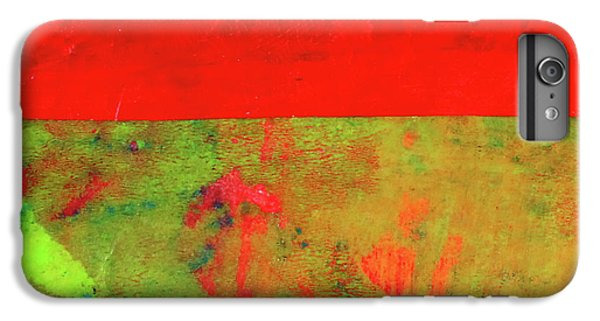 IPhone 6 Plus Case featuring the mixed media Square Collage No. 11 by Nancy Merkle