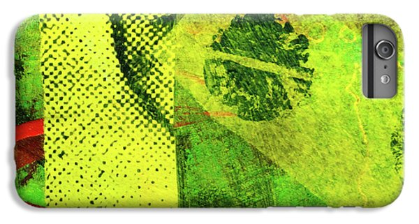 IPhone 6 Plus Case featuring the mixed media Square Collage No. 8 by Nancy Merkle