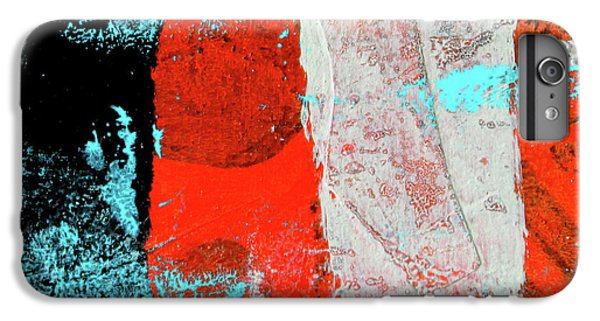 IPhone 6 Plus Case featuring the mixed media Square Collage No. 9 by Nancy Merkle