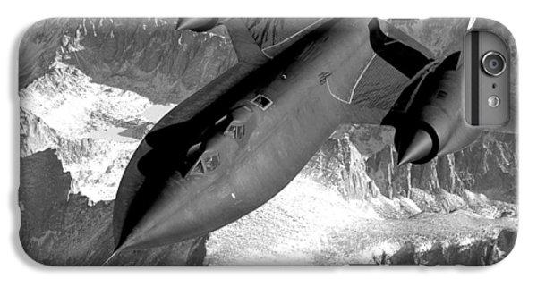 Blackbird iPhone 6 Plus Case - Sr-71 Blackbird Flying by War Is Hell Store