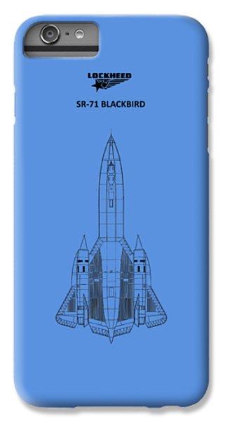 Sr-71 Blackbird IPhone 6 Plus Case