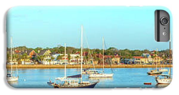 IPhone 6 Plus Case featuring the photograph St Augustine Panorama by Sebastian Musial