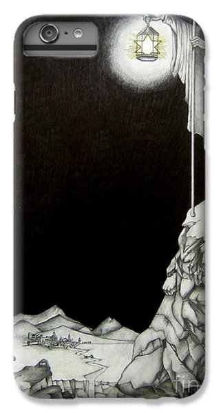 Rock Music Jimmy Page iPhone 6 Plus Case - Stairway To Heaven by Patrice Torrillo