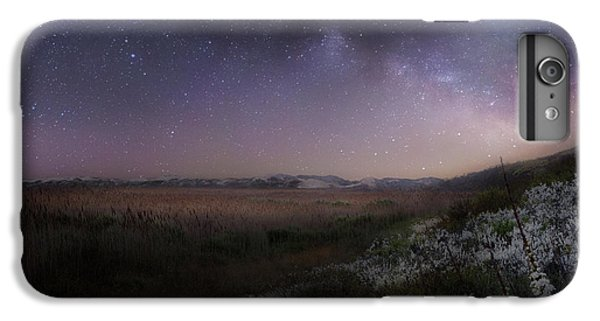 IPhone 6 Plus Case featuring the photograph Star Flowers Square by Bill Wakeley