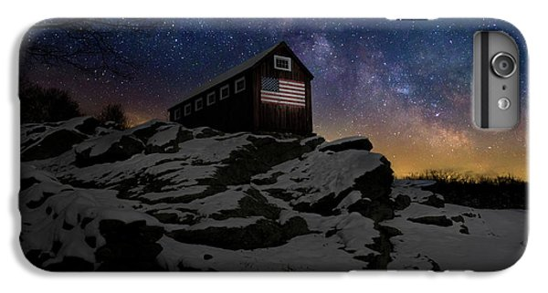 IPhone 6 Plus Case featuring the photograph Star Spangled Banner by Bill Wakeley