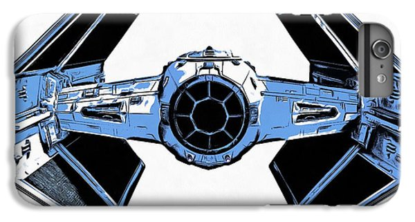 Star Wars Tie Fighter Advanced X1 IPhone 6 Plus Case by Edward Fielding