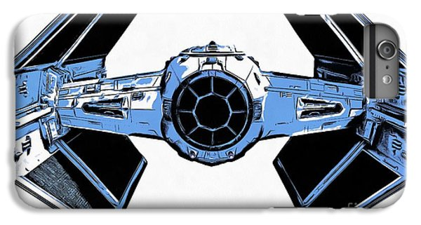Star Wars Tie Fighter Advanced X1 IPhone 6 Plus Case by Edward Fielding