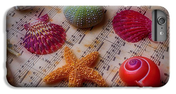 Starfish On Sheet Music IPhone 6 Plus Case