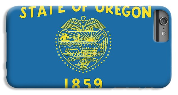 State Flag Of Oregon IPhone 6 Plus Case by American School