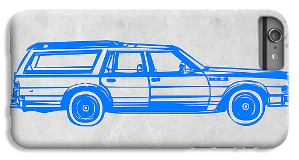 Station Wagon IPhone 6 Plus Case by Naxart Studio