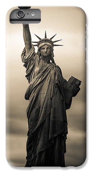 Statute Of Liberty IPhone 6 Plus Case by Tony Castillo
