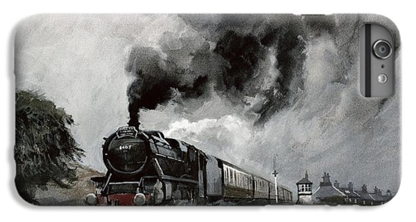 Steam Train At Garsdale - Cumbria IPhone 6 Plus Case