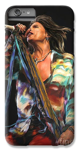 Steven Tyler 01 IPhone 6 Plus Case by Dawn Serkin