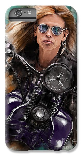Steven Tyler On A Bike IPhone 6 Plus Case