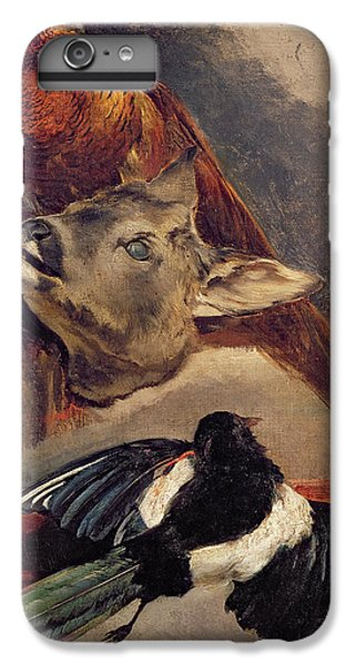 Magpies iPhone 6 Plus Case - Still Life Of Game by Theodore Gericault