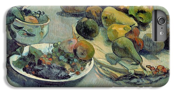 Still Life With Fruit IPhone 6 Plus Case by Paul Gauguin