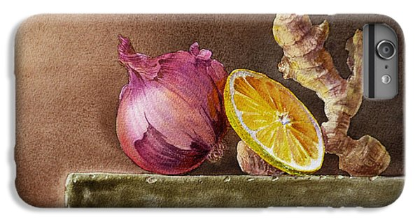 Still Life With Onion Lemon And Ginger IPhone 6 Plus Case