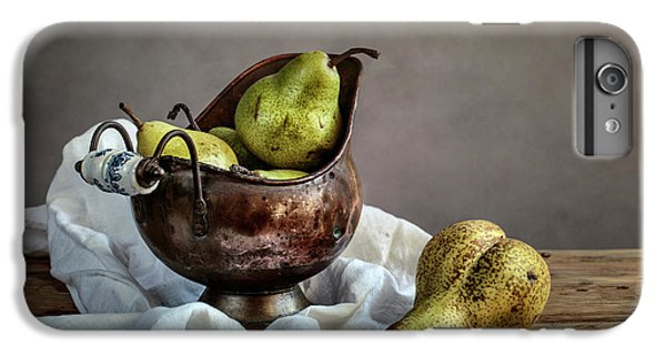 Pear iPhone 6 Plus Case - Still-life With Pears by Nailia Schwarz