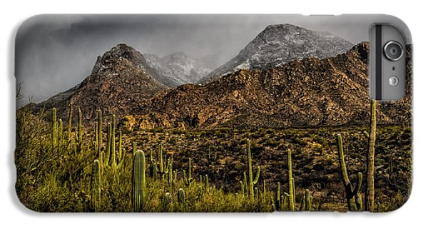 Storm Over Catalinas 15 IPhone 6 Plus Case by Mark Myhaver