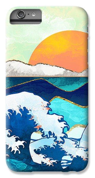 Landscapes iPhone 6 Plus Case - Stormy Waters by Spacefrog Designs