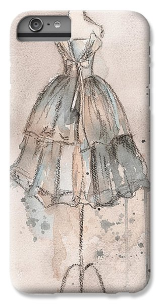 Strapless Champagne Dress IPhone 6 Plus Case by Lauren Maurer