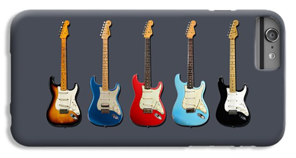 Stratocaster IPhone 6 Plus Case by Mark Rogan
