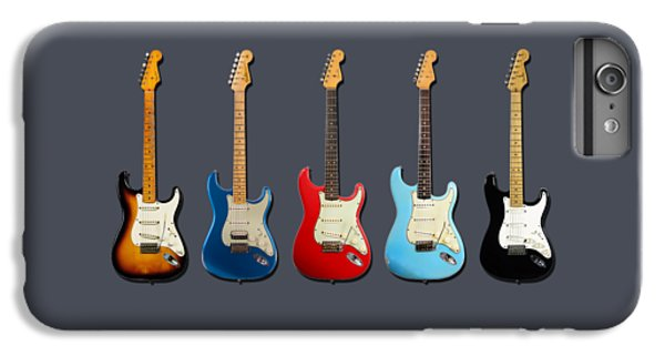 Guitar iPhone 6 Plus Case - Stratocaster by Mark Rogan