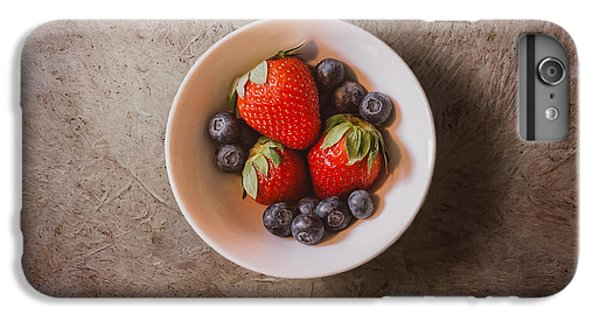 Strawberries And Blueberries IPhone 6 Plus Case by Scott Norris
